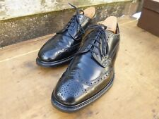CHURCH BROGUES – BLACK – GRAFTON – UK 7.5 – EXCELLENT CONDITION