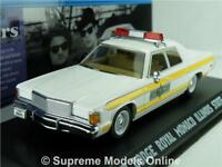 BLUES BROTHERS CAR MODEL 1:43 ILLINOIS STATE POLICE GREENLIGHT DODGE ROYAL 77 T4