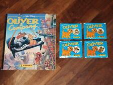 Disney's Oliver & Company Complete Panini Sticker Album & more!!...