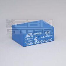 Relay 5Vdc 5A da circuito stampato, relè 5V 2 scambi - ART. EA02