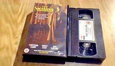 THE SICILIAN Widescreen UK VHS VIDEO 2000 Christopher Lambert Mario Puzo UNCUT