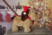 Christmas animated walking dog toy