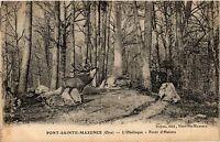 CPA Pont Sainte-Maxence, L'Obelisque-Forét d'Halatte (424040)