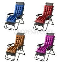 """63"""" Deck Chair Cushion Chaise Lounge Tufted Pad Rocking Recliner Sofa Mat ) JJ"""