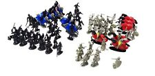 75 Pcs Black Gray Knights Medieval Play Set