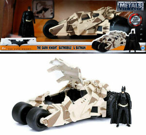 1/24 Jada Batmobile Trumble Camouflage + Figurine Batman Neuf Livraison Domicile