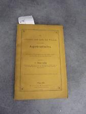 Angenkrankheiten Hans Adler Wien Allemand Monoyer ophtalmologie optique médecine