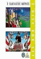 Willy Wonka & The Cioccolato Fabbrica/Charlie And Fabbrica DVD Nuovo