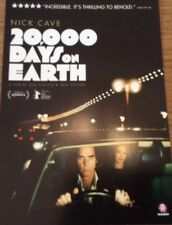 Promotional Movie Flyer For 20,000 Days On Earth Nick Cave, Kylie Minogue