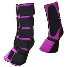 Pink Adjustable Neoprene Combination Bell Boot! New Horse Tack!