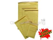 1000 X B/00 Oro acolchada de burbuja Sobres Cajas Bolsas 120x215mm * Special Offer *