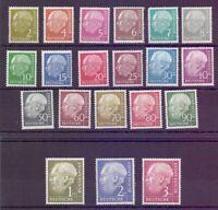Bund 1954 - Theodor Heuss - MiNr. 177/196 postfrisch** - Michel 300,00 € (631)