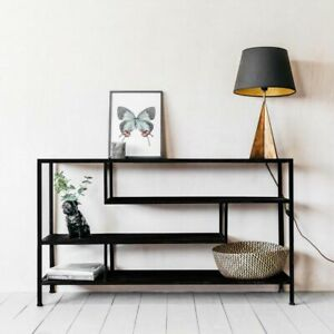 Graham and Green Antique Black Console