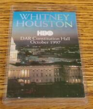 Whitney Houston 1987 Perri Laminated Backstage Pass Hbo Dar Constitution Hall
