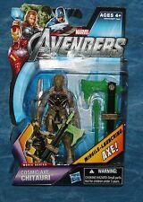 Marvel The Avengers Cosmic Axe Chitauri Action Figure