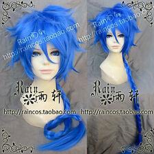 Magi Aladdin cosplay wig punkshop blue 100 CM costume wig   g6