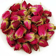 1x 50g Organic Red Rosebud Rose Buds Flower Floral Herbal Dried Health Loose Tea