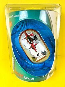 Logitech Optical 3-Button Racer Mouse USB Rare New in Original Packaging PC MAC