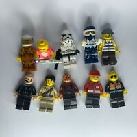 10 x Genuine LEGO Minifigures Bundle #8