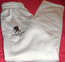 WOMENS UNDER ARMOUR PROMOTIONAL ATHLETIC,LEISURE WARM-UP PANTS GRAY Sz S