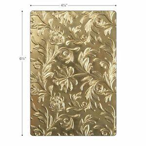 Sizzix Tim Holtz Botanical 3D Embossing Folder