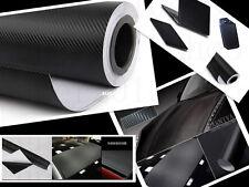 3D Car/tablet  Interior Accessories Panel Black Carbon Fiber Vinyl Wrap Sticker