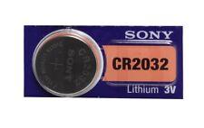 10x Pila Boton Sony CR2032 Batería Litio 3V