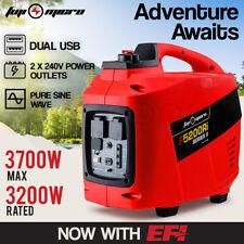 FUJI-MICRO Inverter Generator EFI 3.7kVAMax 3.2kVA Rated Portable Camping Petrol
