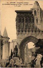CPA Angers-Composition artistique des Monuments historiques de la Ville (167033)