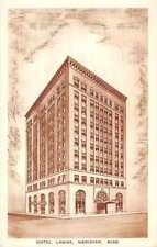Meridian Mississippi Hotel Lamar Street View Antique Postcard K73387