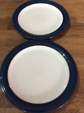Denby Boston Blue Dinner Plates