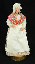 Vintage French Santon d'Argile Signed Sylvette AMY Collectible Hand Made Doll