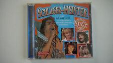 Schlager Meister - Deutscher Kult - CD
