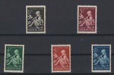 NETHERLANDS, HOLLAND, NEDERLAND, STAMPS, 1938, Mi. 322-326**.