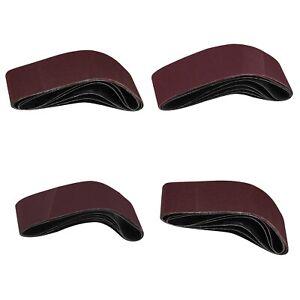5x 100x915mm Aluminum Oxide Assorted Grit Sanding Belts for Polishing Wood Metal
