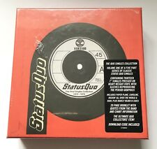 "STATUS QUO THE VINYL SINGLES COLLECTIOIN 1972-1979 7"" VINYL BOX SET NEW & SEALED"