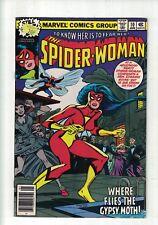 MARVEL Comics Spider woman no 10 January 1979 35c USA