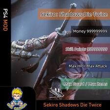Sekiro: Shadows Die Twice (PS4 Mod)- Max Money/Skill Points/Items