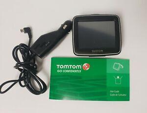 Tomtom Car GPS Unit Model 1EX00 Bundle Working charger Dash Holder FREE SHIPPING