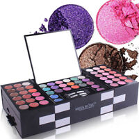 142 Colors Eyeshadow Pallete Womens Cosmetic Case Full Makeup Eye Shadow Palette