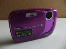 fujifilm z37 le digital camera purple/white.