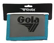 Da Uomo/Ragazzi Gola portafoglio in nylon con tasca monete CUB 300-Grigio/Nero/Blu