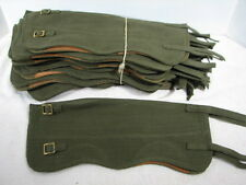 VIETNAM ERA BRITISH EUROPEAN LEG GAITERS SPATS LEGGINGS 1 SET OF TWO (2)