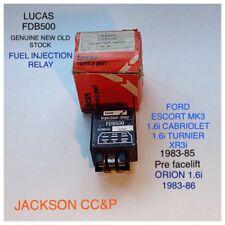FORD ESCORT 1983-85 MK3 1.6i LUCAS FUEL INJECTION RELAY FDB500 BOSCH 0280230113
