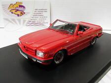 """GLM 206101 # Mercedes-Benz AMG 500 SL r107 Cabrio anno 1983 in rosso"""""""" 1:43 NUOVO"""