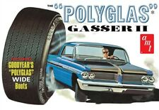 "AMT 1092  1962 PONTIAC CATALINA ""POLYGLAS GASSER II"" model kit 1/25  IN STOCK!!"