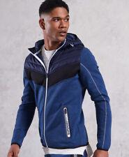 Superdry Mens Gym Tech Chevron Hybrid Jacket