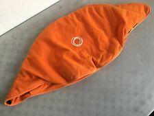 Bugaboo Chameleon Sitzbezug Orange Fleece Stoff für Frosch Sonnenschutz Verdeck