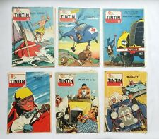 Lot Journal Tintin Michel Vaillant 4 8 539 827 JEAN GRATON / HERGE / BD