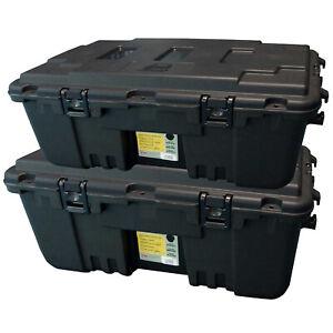 2 Pack Plano Gorilla Storage Trunk Large | Black